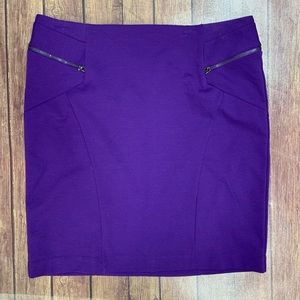 Relativity Purple Skirt